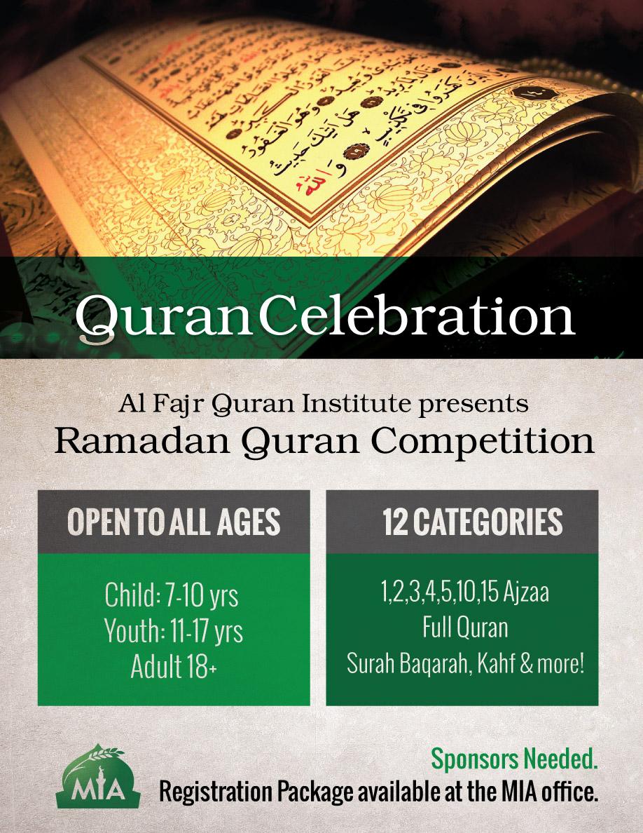 Ramadan Quran Competition - MIA online